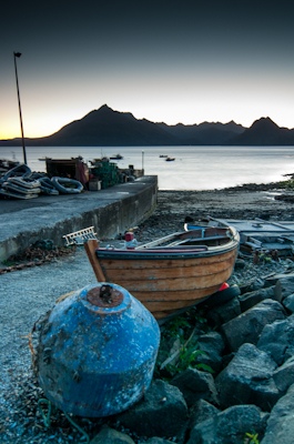 elgol boat and pier
