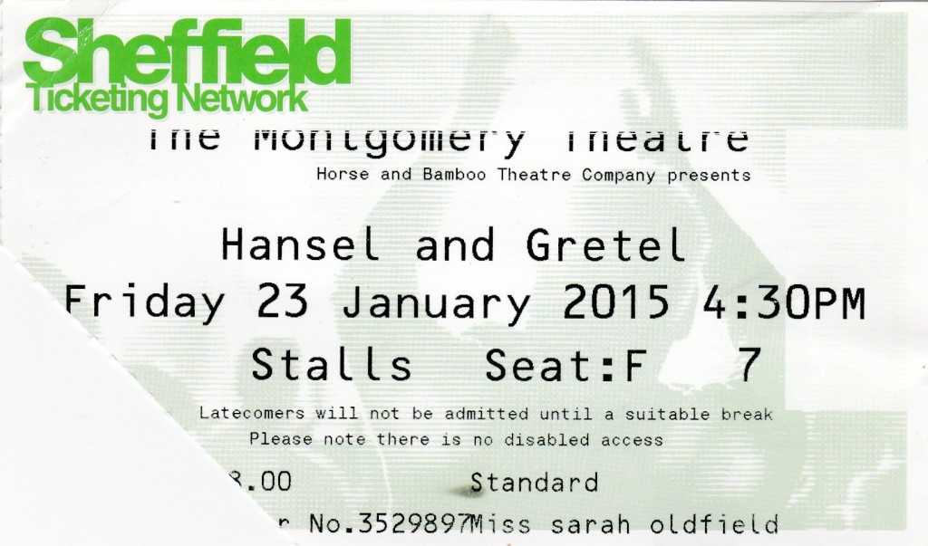 hansel & gretel-ticket